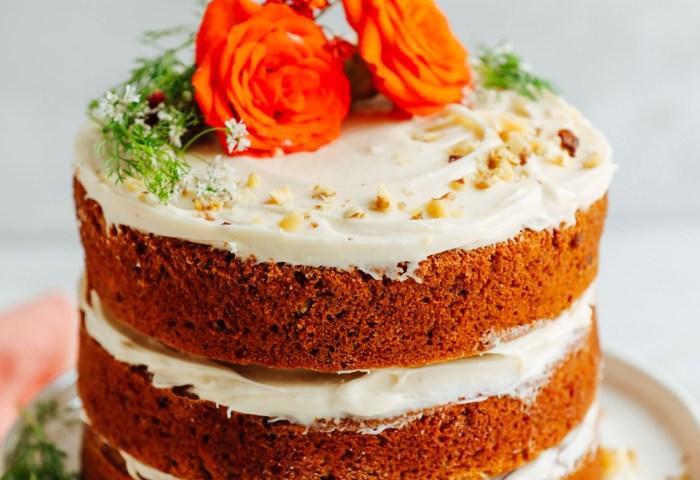 Vegan Gluten Free Carrot Cake Minimalist Baker Recipes