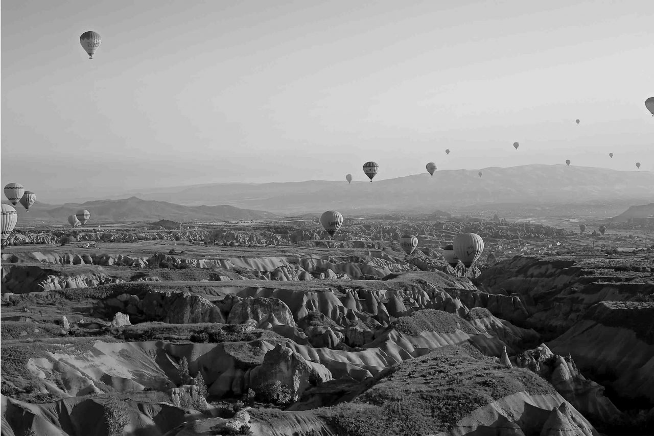hot air balloons in turkey