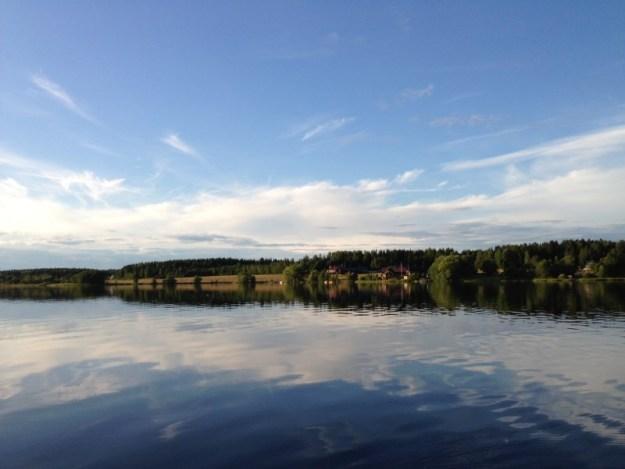 Sommarstuga utsikt