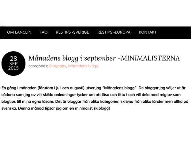 blogg Archives - Minimalisterna 463d2dc385313
