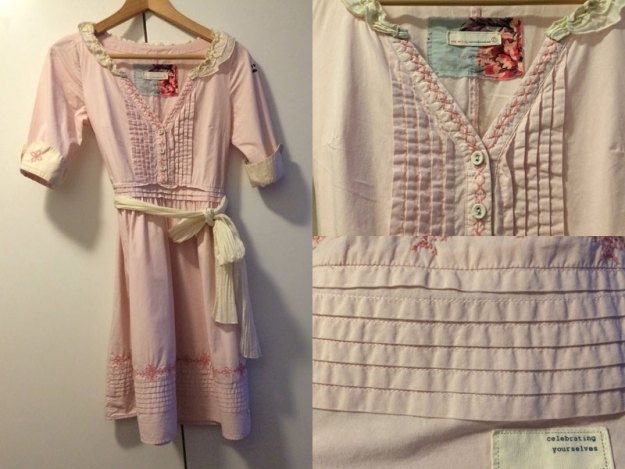 Odd Molly-klänning som tillslut såldes med hjälp av Simplet.