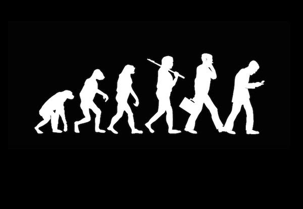 Evolutionen vs Smartphonen