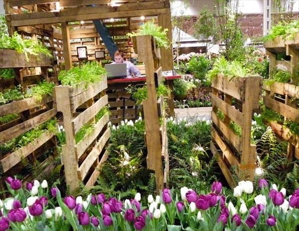 How To Build A Vertical Herb Garden From A