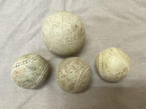 野球ボールとソフトボールのボール