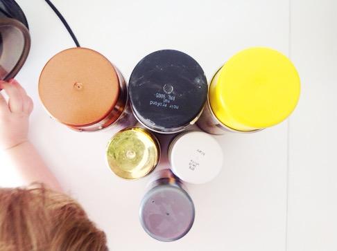 Mögliche Farben fürs Lampen-Makeover bei minimalistmuss.com
