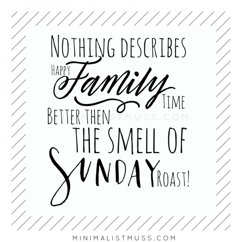 family time smells like...