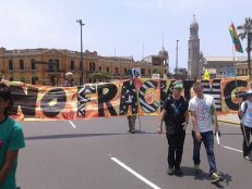 marcha bolivia frack