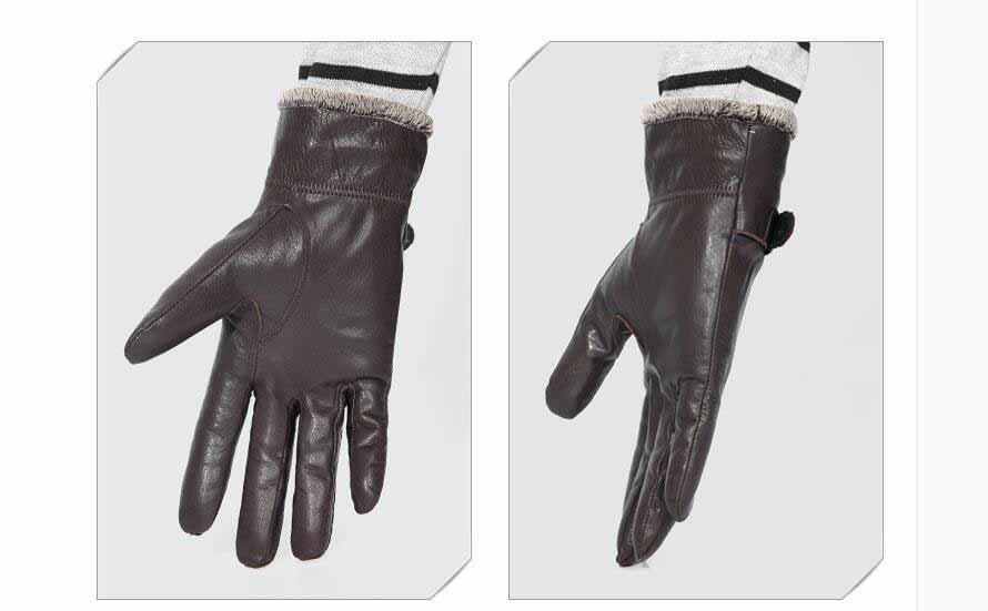 Gloves men Leather 4