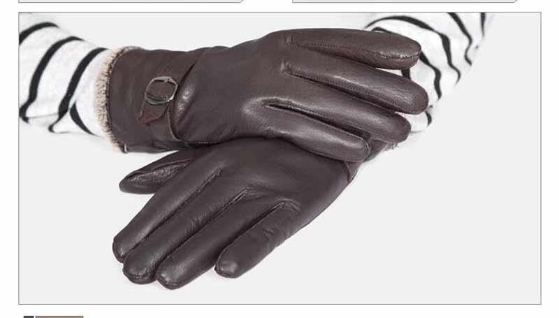Gloves men Leather 9