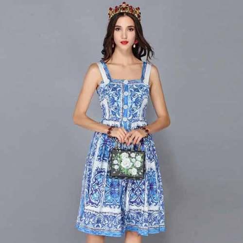Fashion Runway Summer Dress
