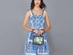 Fashion Runway Summer Dress
