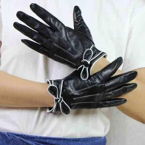 Genuine Leather Women Gloves