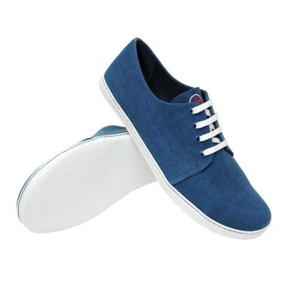 Minimas azules y blancas
