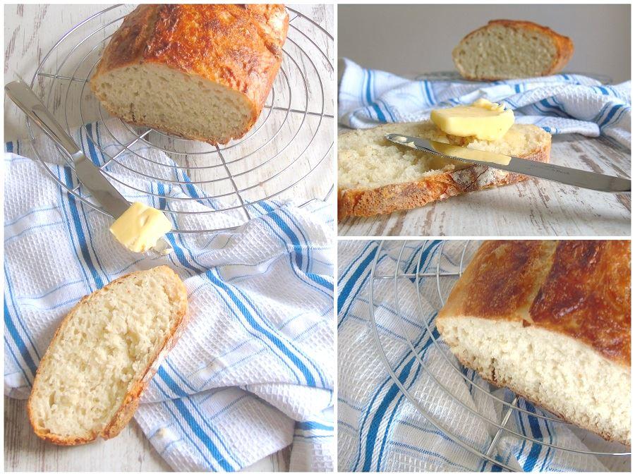 frisch gebackener Laib Brot