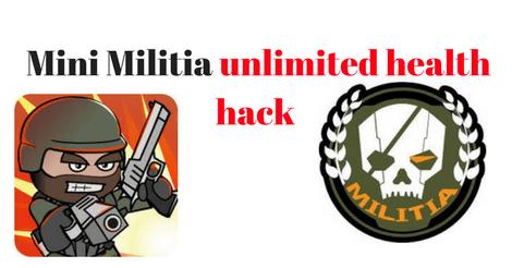 Mini Militia Hack Unlimited ammo, health & flying Power