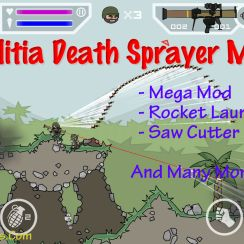 Mini Militia Death Sprayer Mod Apk