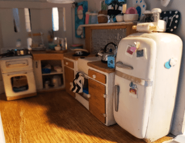 Miniature Kitchen Progress