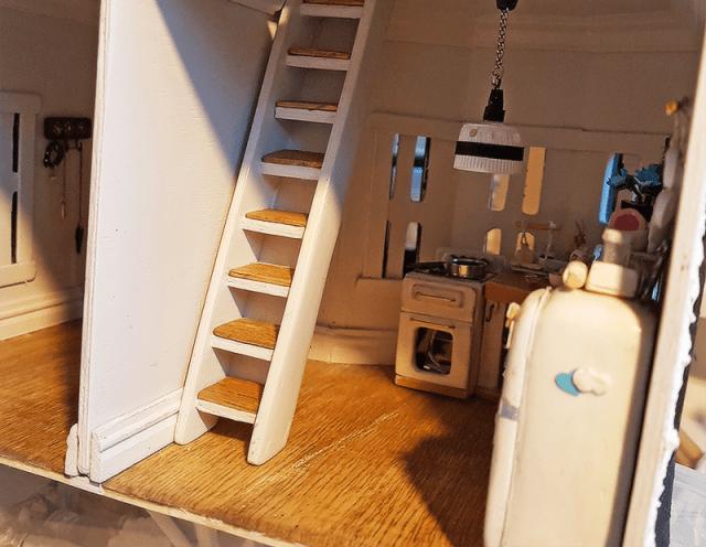 miniature kitchen 2