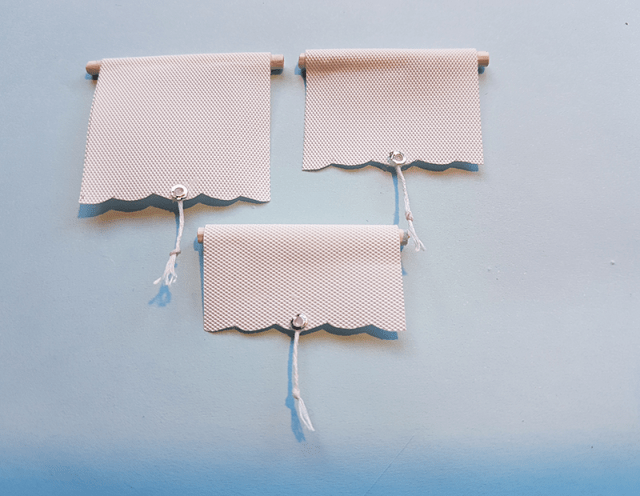 miniature blinds