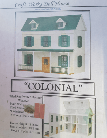 My 1-12 Scale Dollhouse -The Capacious Colonial