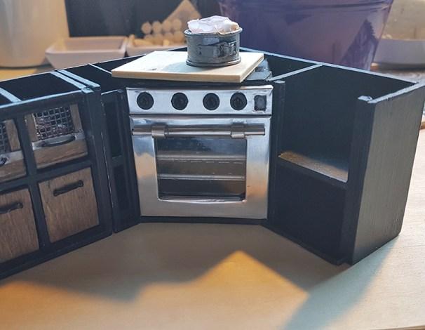 stove cabinet