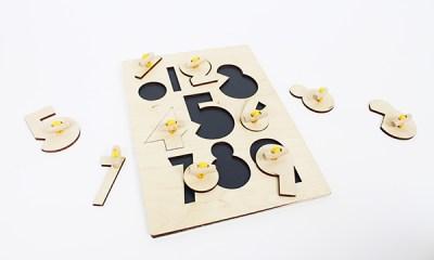 and me houten puzzel met cijfers dutch design