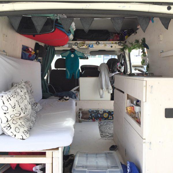 twee maanden reizen met kind in camper