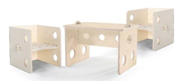 sjors rocks kinderstoel en tafeltje