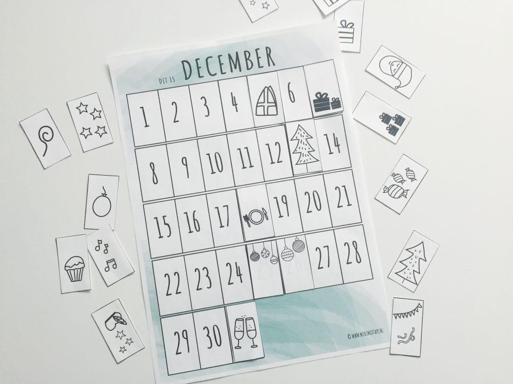 december maandplanner