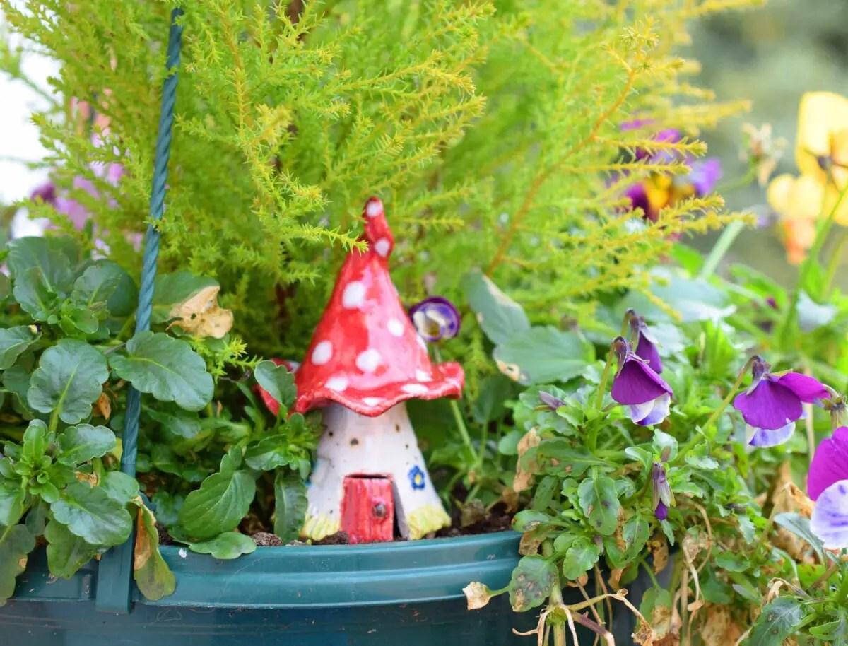 howto plan a fairy garden