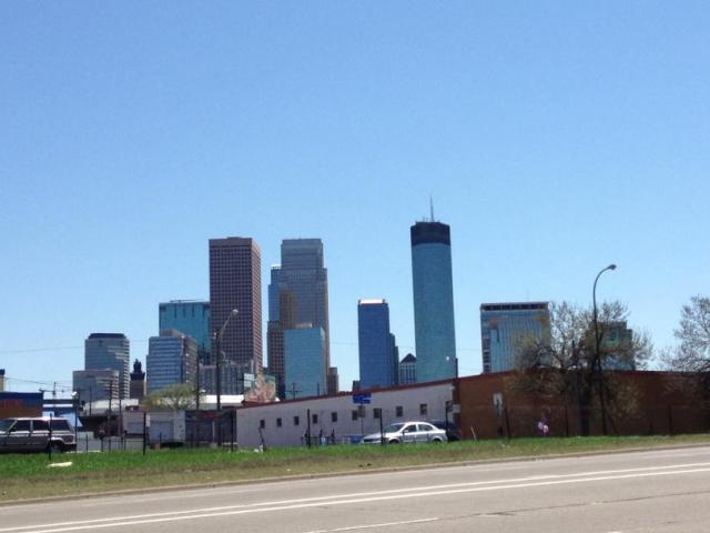 Here is the Minneapolis skyline, it's the best we got, and I didn't even get it :) (Thanks Shae)