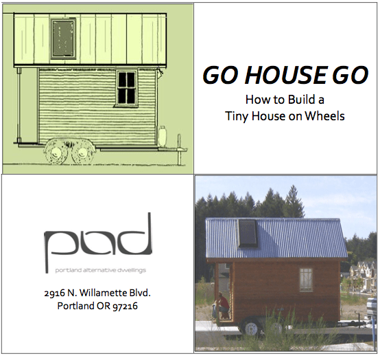 Where can you park a tiny house minimotives for Small house design book pdf