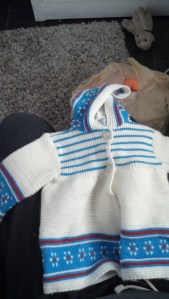 I also love this one, it has a little hoodie!