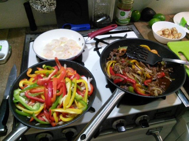 And the pretty fajitas