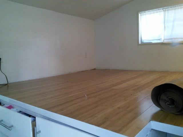 loft floor done