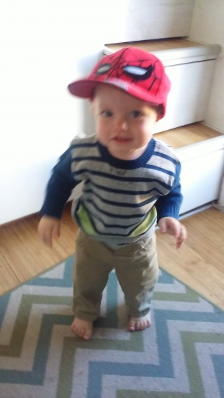 He likes hats