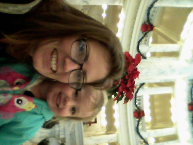 We checked out Hazels favorite place to see how it was decorated, she approved