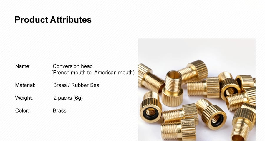 Conversion Head (French to American Inflatable Nozzle) P2