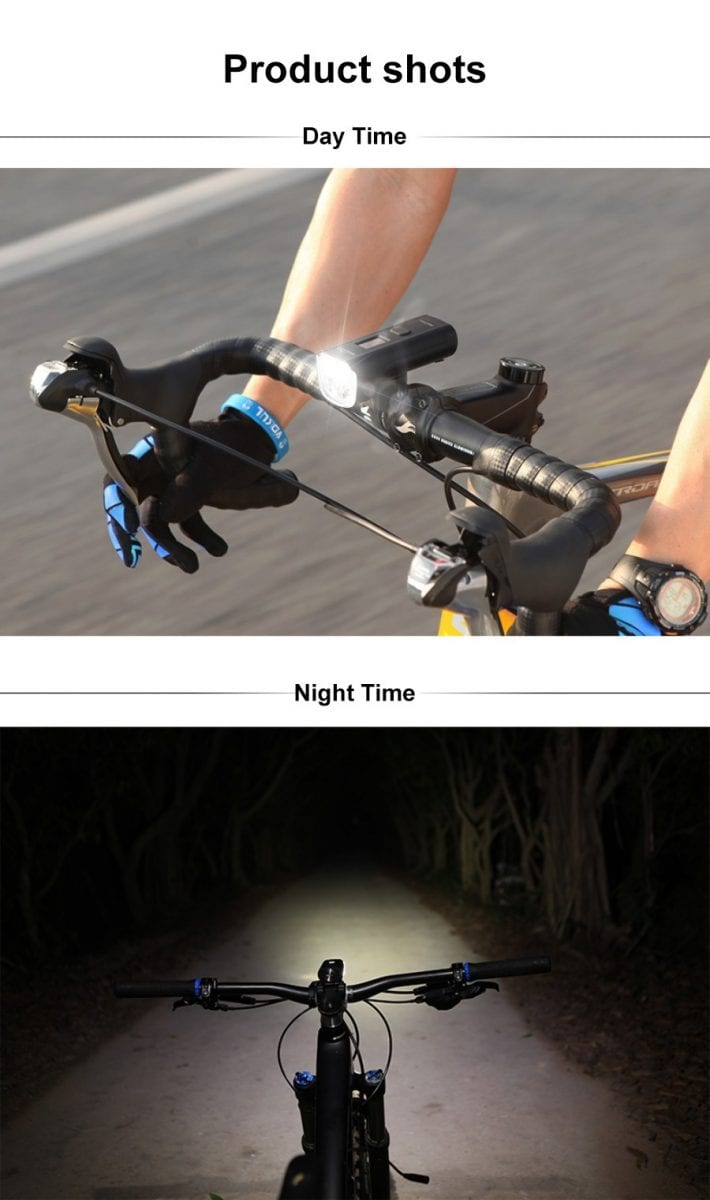 MAGICSHINE Bicycle Front Light ALLTY 2000