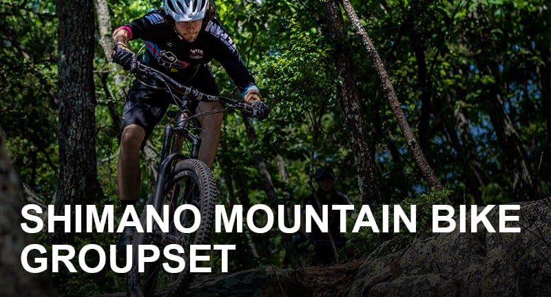 Shimano Mountain Bike Groupset Hierarchy