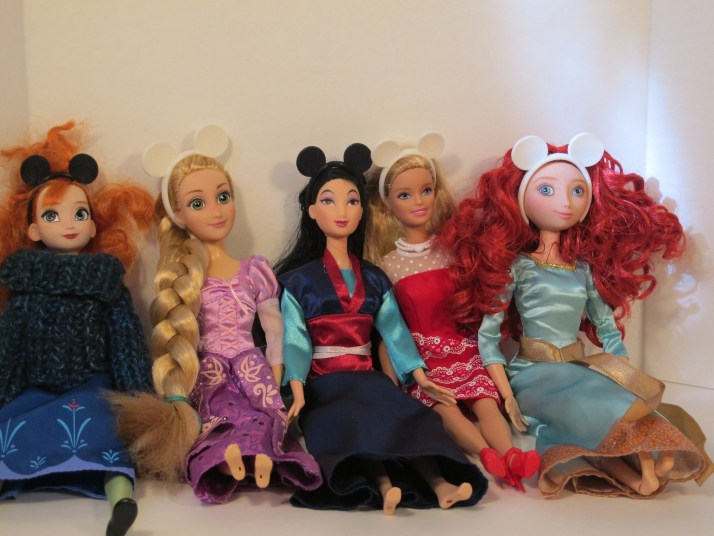 A few of my dolls modeling the ears
