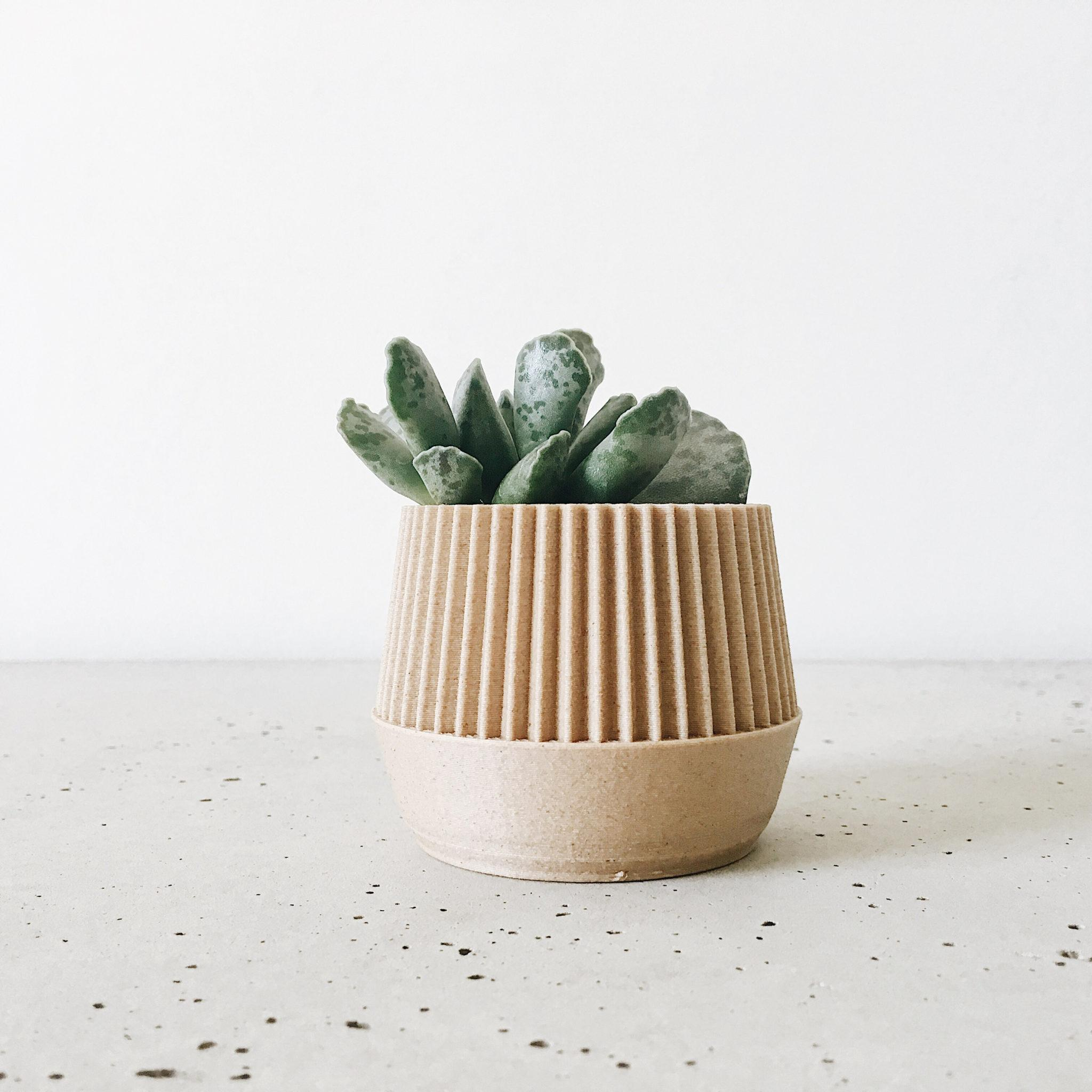 Pot Plante En Bois natural wood planters, planters - kobe - minimum design