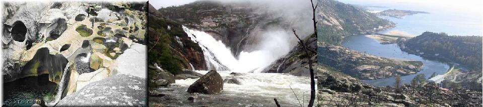 Los pozos, la cascada y el mirador