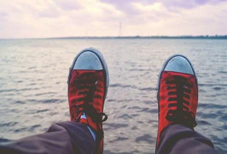 Ande com as próprias pernas
