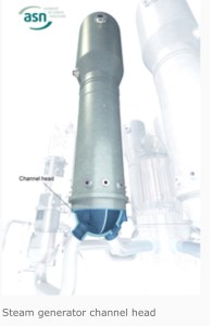 steam generator  channel heads ASN