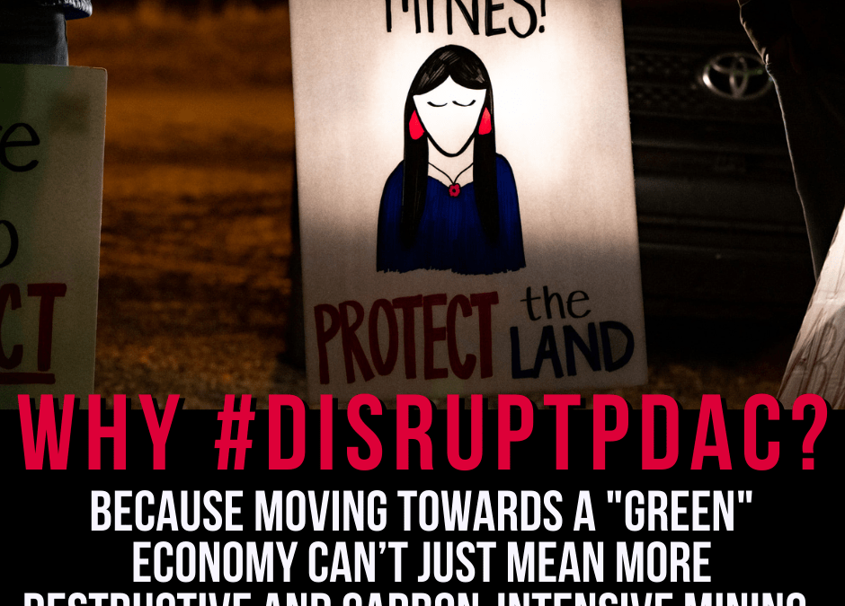 Help us #DisruptPDAC! Some #PDAC2021 messages.