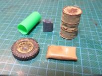Random bits to use as debris.