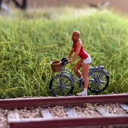 Scale model bicycle