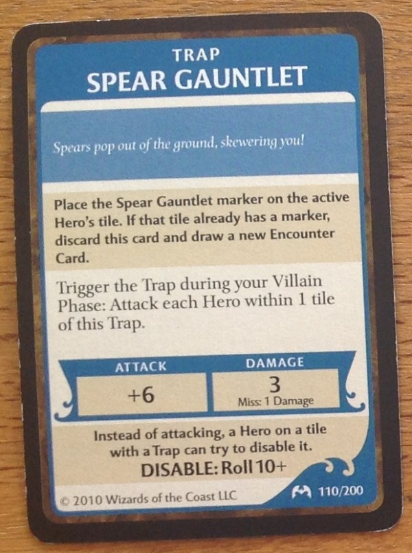 Spear Gauntlet, Castle Ravenloft
