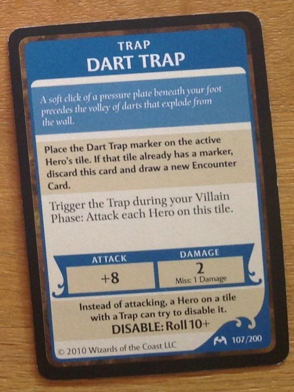 Dart Trap, Castle Ravenloft